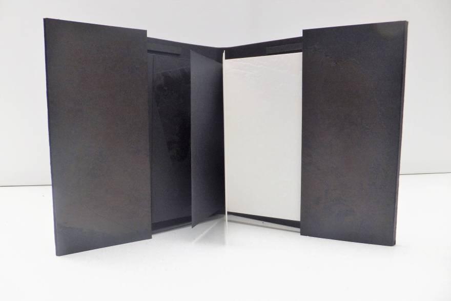 wit zwart boek